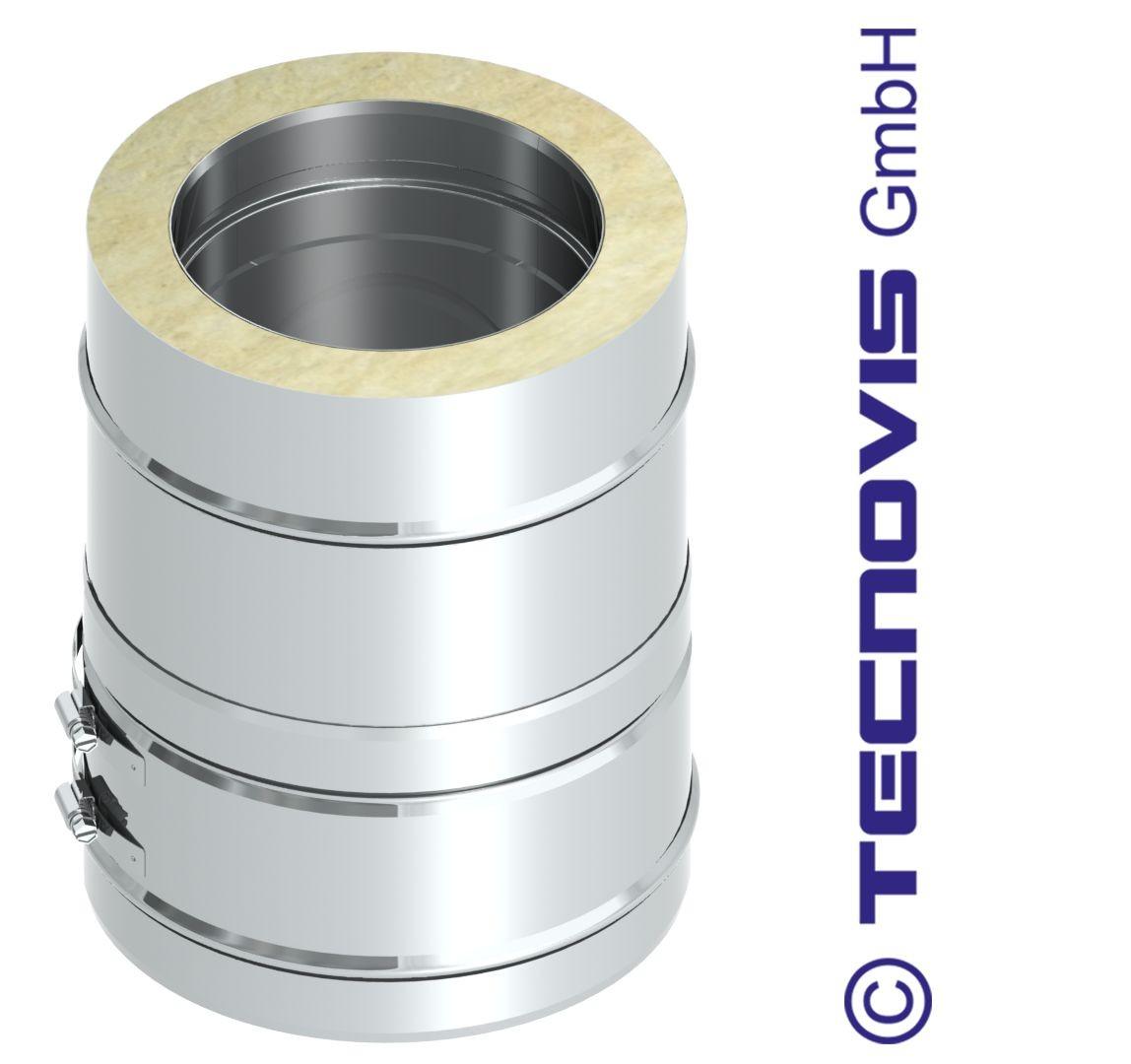 Isolerad längd 25 cm med låsband, h=19 cm