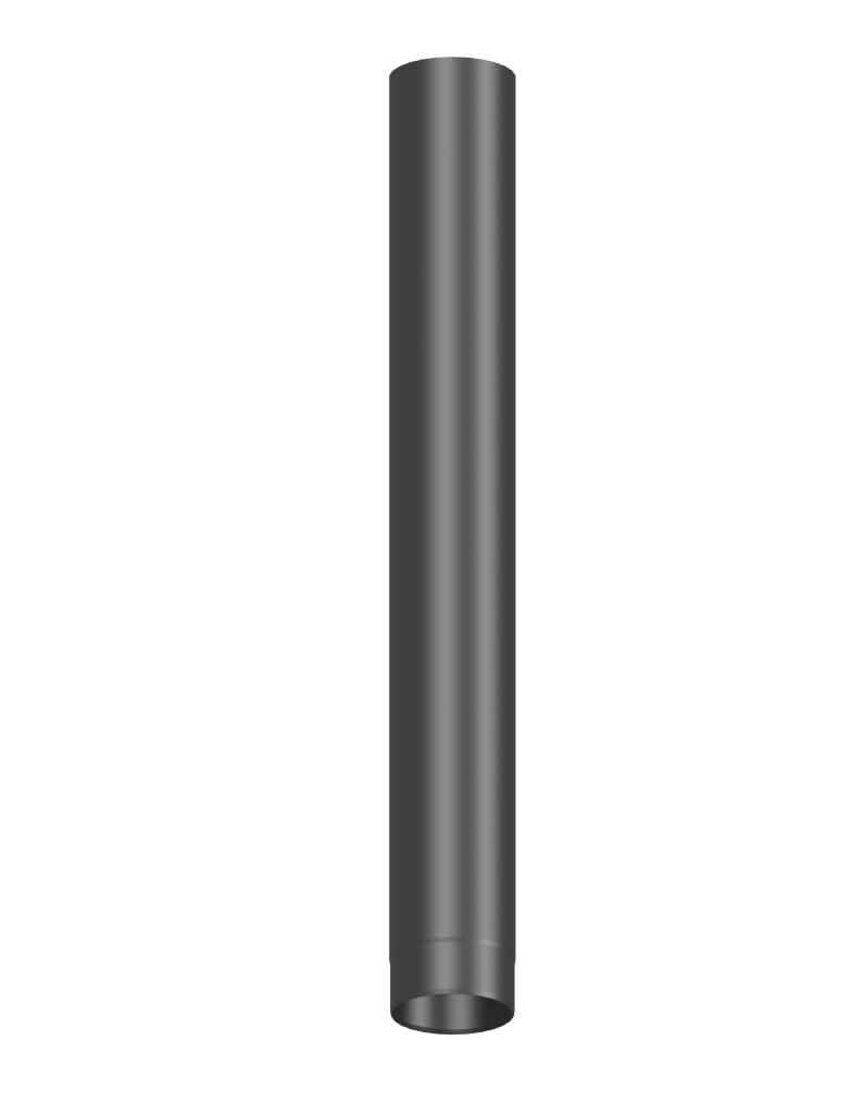 Skorstensrör 1 mtr