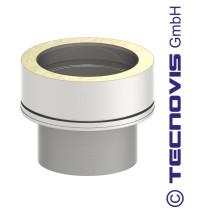 Övergång från modulskorsten isolering 32 mm - 50 mm